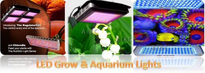 LED Grow and Aquarium Lights